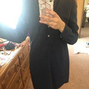 The Limited Vintage belted shirt dress